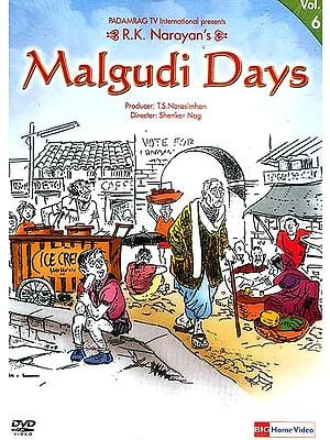 R.K. Narayan's Malgudi Days Volume-6 (Hindi DVD Video with English Subtitles)