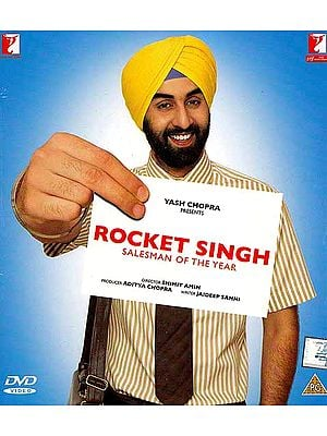 Rocket Singh Salesman of the Year (DVD): Comedy Hindi Film with Optional Subtitles in English/Arabic/Dutch