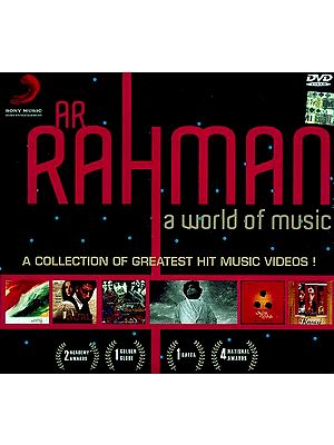 AR Rahman A World of Music A Collection of Greatest Hit Music Videos (DVD Video)