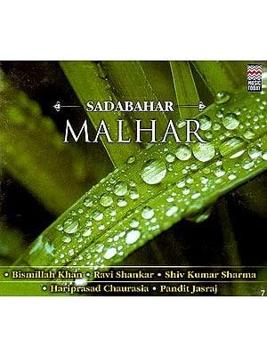 Sadabahar Malhar (Audio CD)