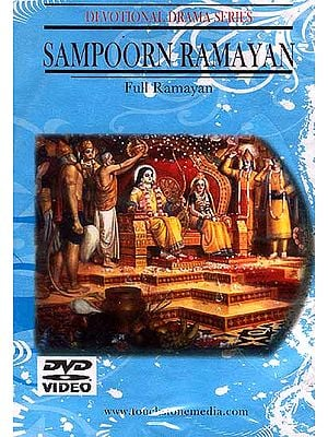 Sampoorn Ramayan Full Ramayan Devotional Drama Series (Hindi with English Subtitles) (DVD Video)
