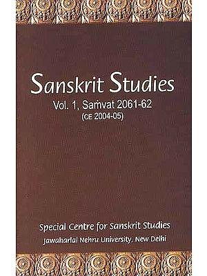 Sanskrit Studies Vol. 1, Samvat 2061-62 (ce 2004-05)
