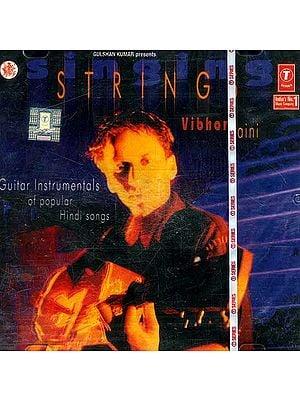 Singing String (Guitar Instrumentals of Popular Hindi Songs) (Audio CD)