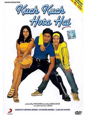 Something Happens….A Sweet Tale of Friendship and Love: One of the Most Successful Hindi Film Ever (DVD with Subtitles in English) (Kuch Kuch Hota Hai)