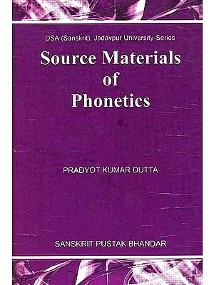 Source Materials of Phonetics