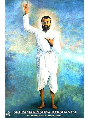 Sri Ramakrishna Darshanam: Lavishly Illustrated in Color