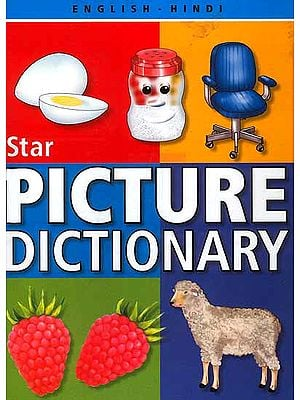 Star English-Hindi Picture Dictionary (With Roman)