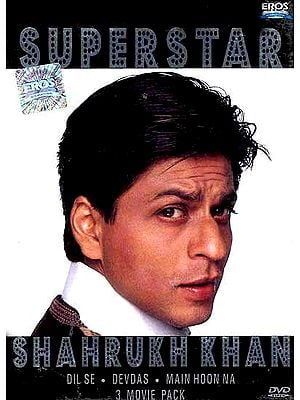 Superstar Shahrukh Khan (Dil Se, Devdas, Main Hoon Na 3 Movie Pack) (DVD) (Subtitles in English)