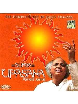 Surya Upasana Pandit Jasraj (The Complete Set of Daily Prayers) (MP3 CD)