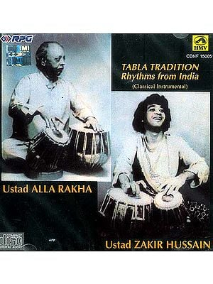 Tabla Tradition Rhythms from India (Classical Instrumental) (Audio CD)