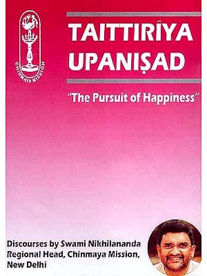 "Taittiriya Upanisad ""The Pursuit of Happiness"": Discourses by Swami Nikhilananda (Set of 2 MP3 CDs)"