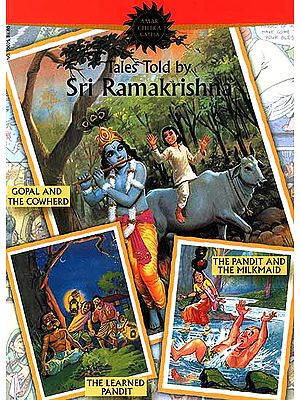 Tales Told by Sri Ramakrishna (Paperback Comic Book)