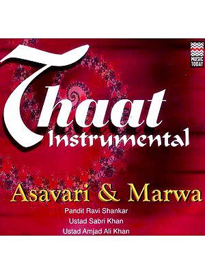 Thaat Instrumental… Asavari & Marwa (Audio CD)