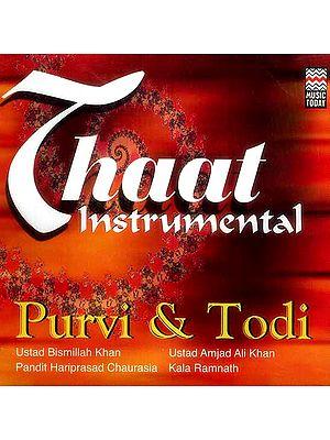 Thaat Instrumental (Audio CD)
