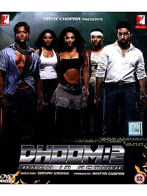 The Bang 2 (Dhoom 2) - A Film in the Action Comedy Genre (DVD with Optional Subtitles in English, Arabic, Spanish, French, Dutch, Portugese)