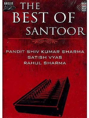 The Best of Santoor (MP3 CD): Over Three Hours of Music