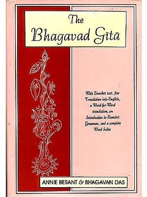 The Bhagavad Gita by Annie Besant