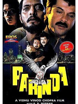 The Bird in Flight: A Classic Action Film (Hindi Film DVD with English Subtitles) (Parinda)