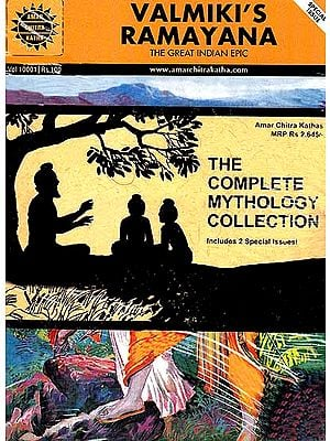 The Complete Mythology Collection (73 Amar Chitra Katha Comics)