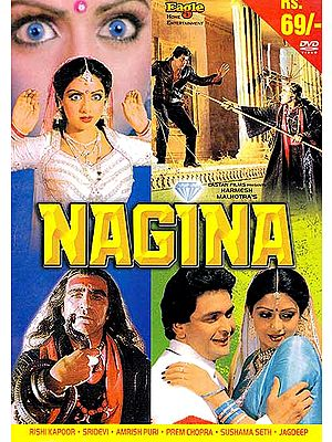 The Gemstone: The Story of a 'Serpent-Woman' (Hindi Film DVD with English Subtitles) (Nagina)