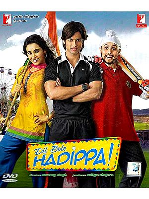 The Hearts Speaks with Joy - A Girl has to Impersonate as a Man to Gain a Place in an All-Men's Cricket Team: Hindi Film DVD with Optional Subtitles in English/Arabic/Dutch (Dil Bole Hadippa)