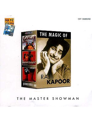 The Magic of Raj Kapoor (The Master Showman) (Set of Two Audio CDs)
