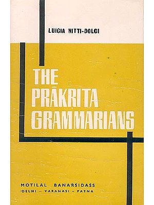 THE PRAKRITA GRAMMARIANS: An Old Book