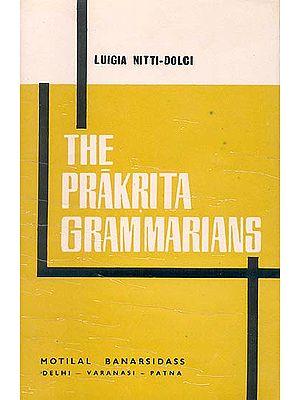 THE PRAKRITA GRAMMARIANS: An Old Book