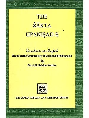 The Sakta Upanisad-s