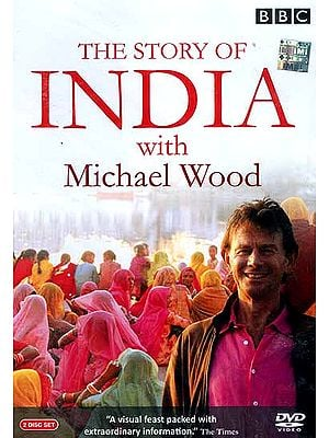 The Story of India with Michael Wood (Set of 2 Discs) (DVD Video)