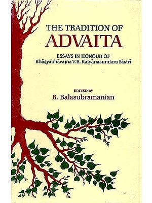 THE TRADITION OF ADVAITA (Essays in Honour of Bhasyabhavajna V.R. Kalyanasundara Sastri)