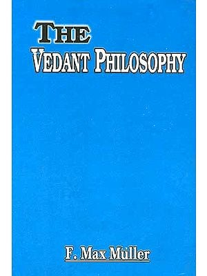 The Vedanta Philosophy