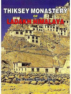 Thiksey Monastery of Ladakh Himalaya
