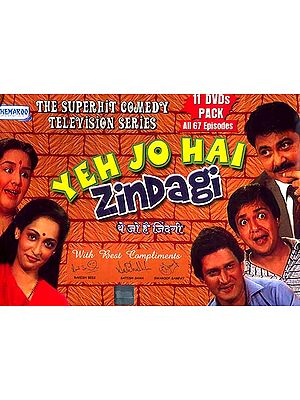 This is Life (Yeh Jo Hai Zindagi) - The Super Hit Comedy Television Series from India (11 DVDs with English Subtitles, All 67 Episodes)