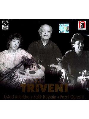 Triveni (Three Tabla Players) (Audio CD)