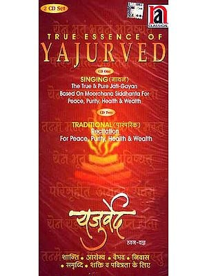True Essence of Yajurved (Set of two Audio CDs)
