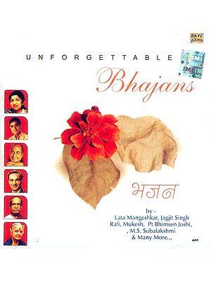 Unforgettable Bhajans (Audio CD)