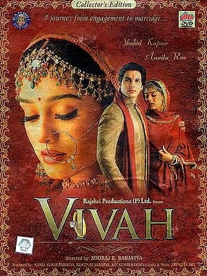 Vivah: A Journey from Engagement to Marriage - Collector's Edition (Hindi Film DVD with English Subtitles)