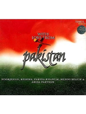 With Love from Pakistan (Audio CD)