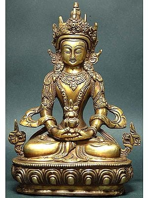 Tibetan Buddhist Deity Amitabha The Buddha of Infinite Life