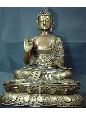 Large Size Buddha, the Universal Teacher