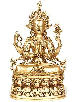 (Tibetan Buddhist Deity) Chenresig or the Four-Armed Avalokiteshvara