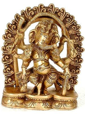 Eight-Armed Dancing Ganesha