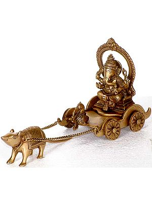Ganesha in the Mouse Chariot