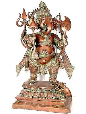 Large Size Ganesha The Spiritual Warrior
