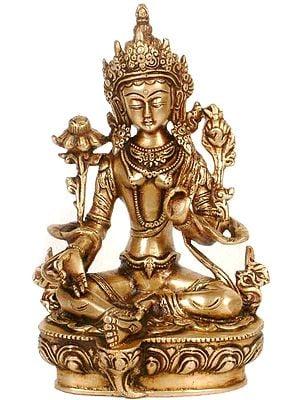 Tibetan Buddhist Deity- Green Tara