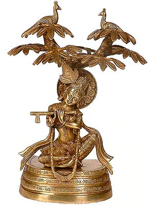 Krishna Under The Kadamba Tree