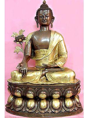 Tibetan Buddhist God Medicine Buddha (Large Statue)