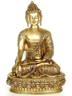 Tibetan Buddhist God Medicine Buddha