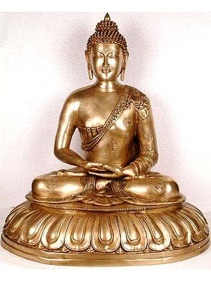 Large Size Meditating Buddha